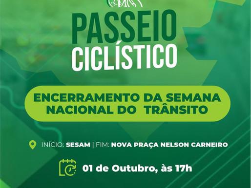 Semana Nacional do Trânsito em Piripiri será encerrada com passeio ciclístico