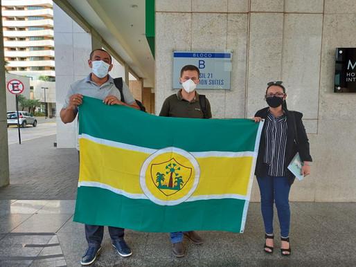 Secretária e técnicos da SEDUC de Piripiri cumprem agenda em Brasília