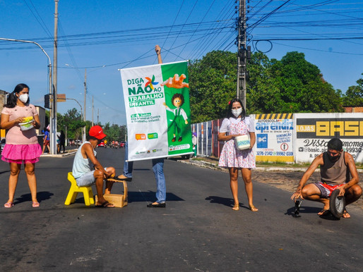"""CRAS II de Piripiri faz blitz pela campanha """"Diga não ao Trabalho Infantil"""""""