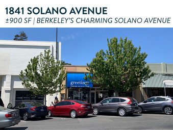 1841 Solano Ave   Berkeley
