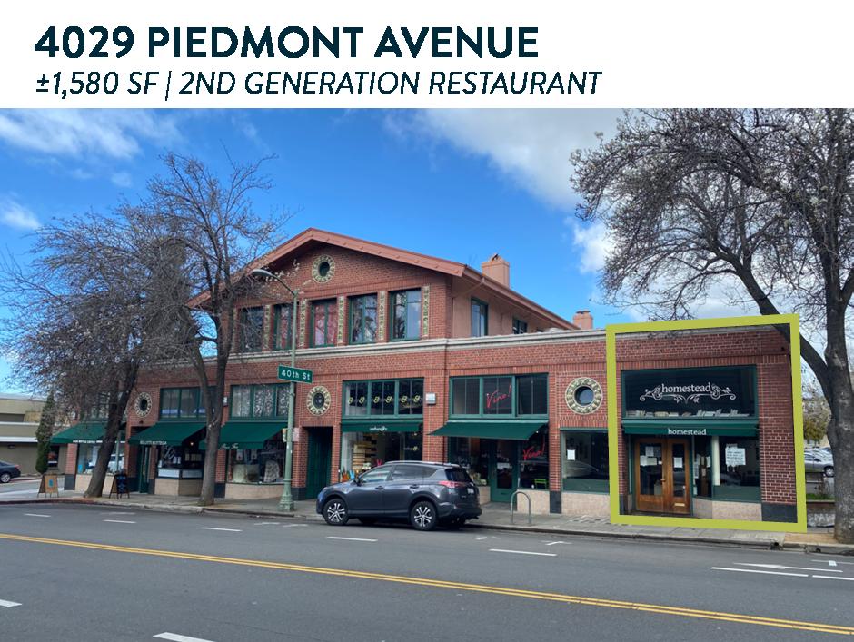 4029 Piedmont Ave   Oakland, CA