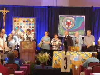 Recognition as a New ELCA Congregation