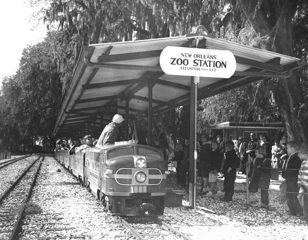 Audubon Park Train - Audubon Park Commis