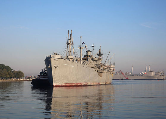 SS John W. Brown by US Navy Military Sea