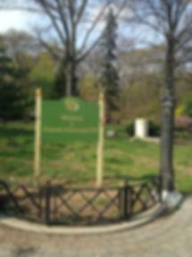Historic Richmond Hill sign - Park Lane