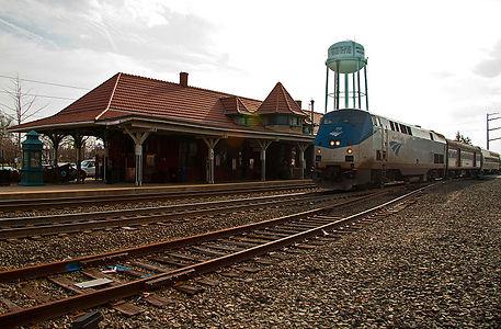 Manassas Train Station - J P Mueller - C