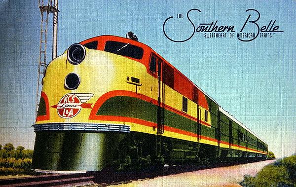Southern Belle - Kansas City Southern Ra