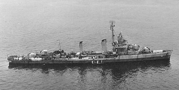USS Lansdowne DD486 - Department of the
