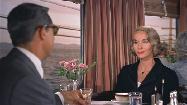 Screen capture from North by Northwest -