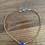 Thumbnail: Faceted Lapis and Leather Necklace