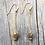 Thumbnail: Gold Dangling Spinel Earrings