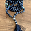 Thumbnail: Lava Stone and Jade Mala Necklace