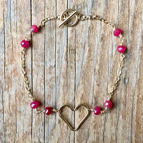 Sweet Heart Bracelet