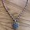 Thumbnail: Sterling Silver Flower Mandala Necklace