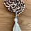 Thumbnail: African Brandy Opal Mala Necklace