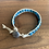 Thumbnail: Sky Blue Matte Apatite Single Leather Wrap