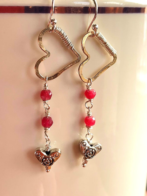 Hearts Aloft Earrings