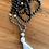 Thumbnail: Onyx and Smokey Quartz Mala Necklace