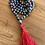 Thumbnail: Eagles Eye Stone Mala Necklace