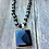 Thumbnail: Black Spinel Rosary with Pendant