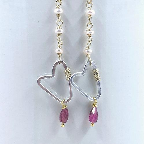 Guarded Heart Earrings