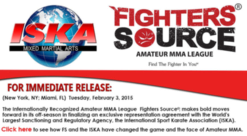 Fighters Source, Fighters Source League, Amateur MMA, MMA League, ISKA Rules