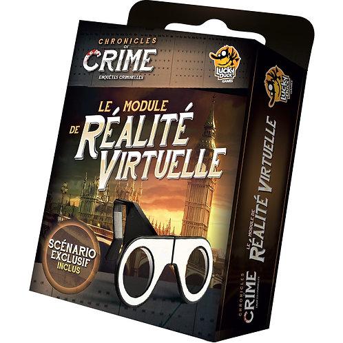CHRONICLES OF CRIME - Module de Réalité virtuel