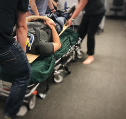 Stretcher Use with our EMRs