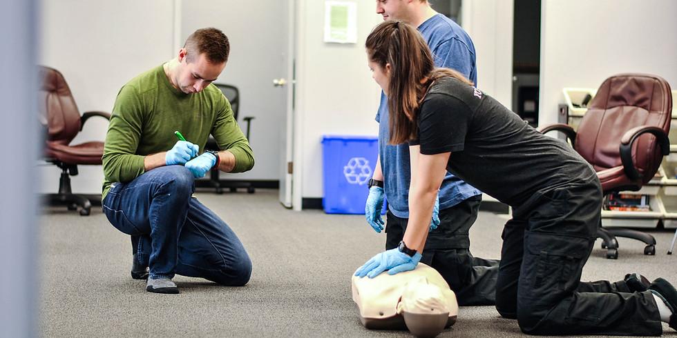 SFA CPR-C/AED BL Full