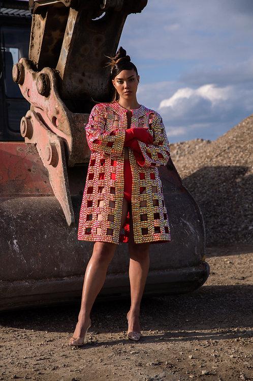 incognito kimono red