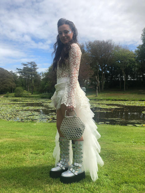 Jessica's Festival Wedding Outfit
