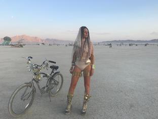 @ Burning Man Costume