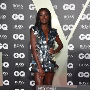 AJ Odudu @ GQ Awards 2019