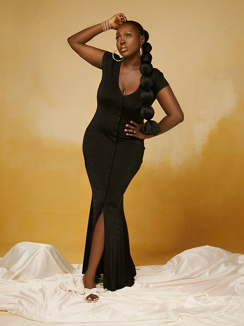 IRIS DRESS BLACK
