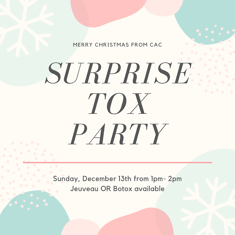 SURPRISE TOX PARTY