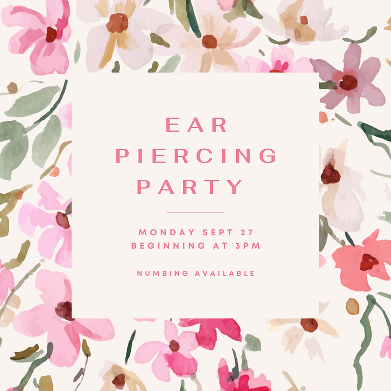 Ear Piercing Party