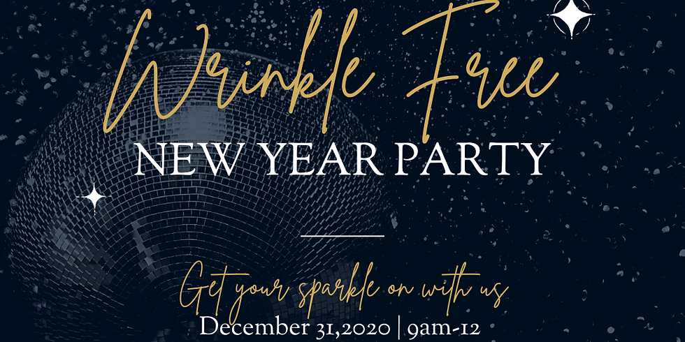NEW YEARS EVE WRINKLE FREE PARTY