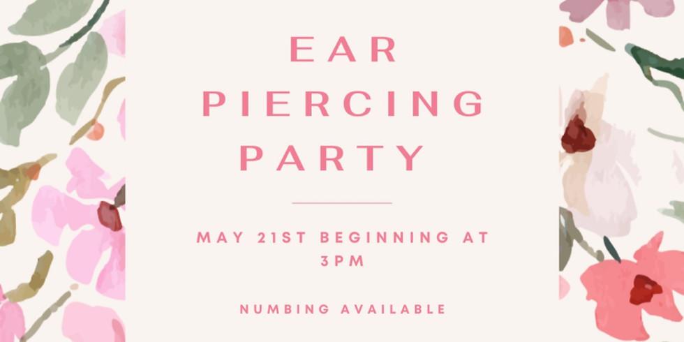 Medical Grade Ear Piercing