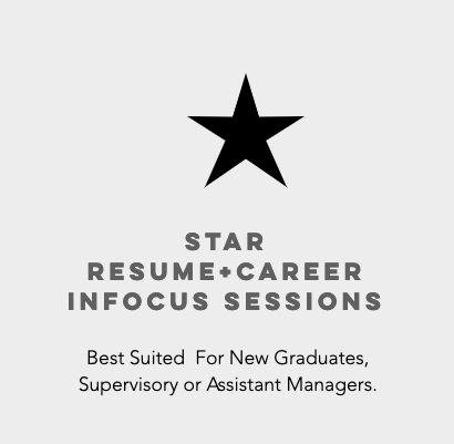 STAR RESUME + CAREER INFOCUS PLAN