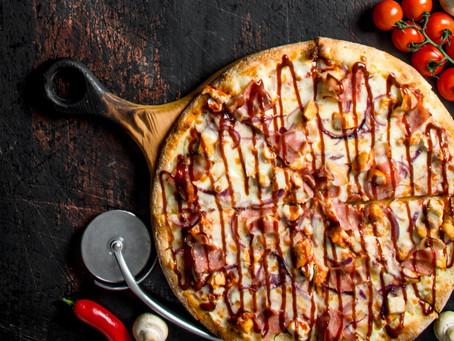 Homemade BBQ Pizza