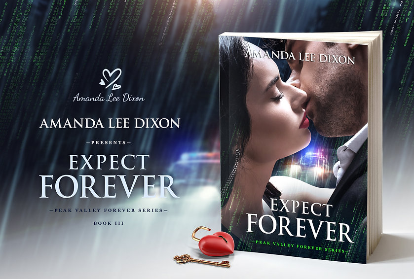 The book Expect Forever_PROMO banner 2.j