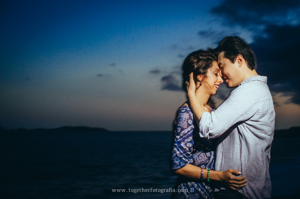 Luana + Charles: Ensaio_Prewedding_ForteCopacabana