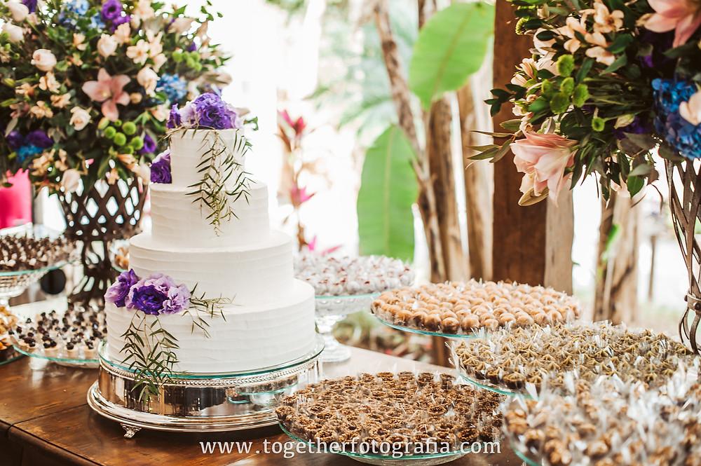 Decoração de casamento Bolo de casamento Casamento de dia