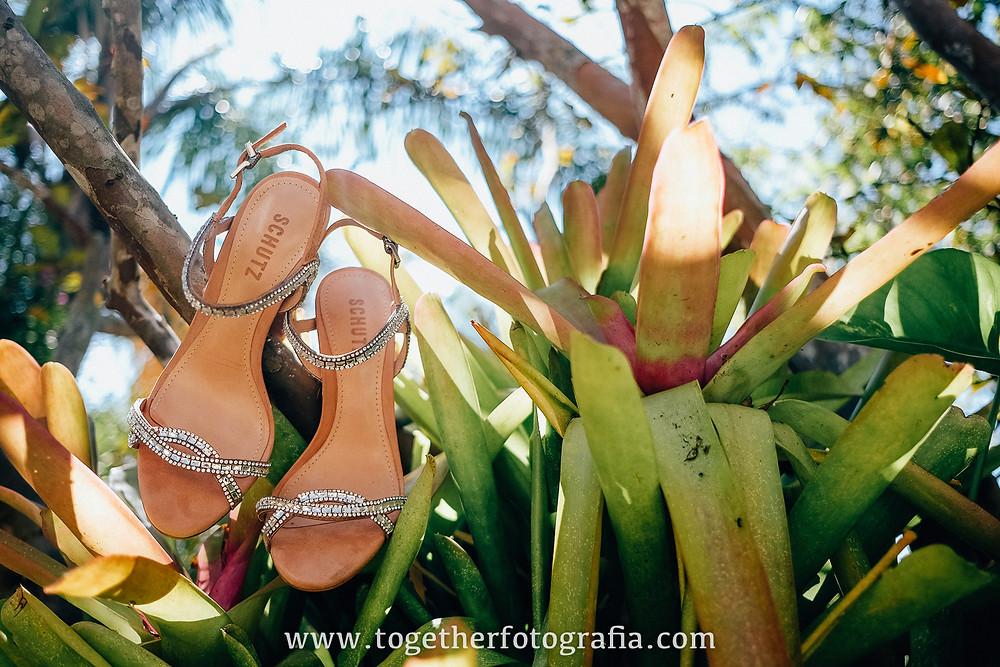 Making Of noivas  Casamento de dia  Sapato de noiva