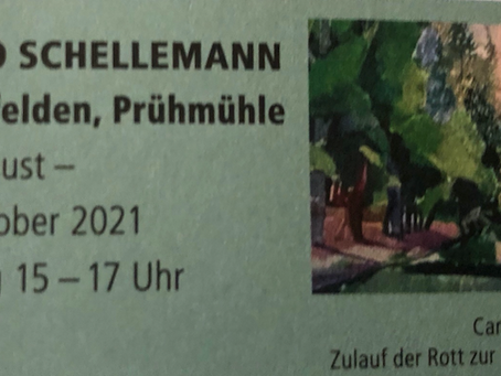 Kunstausstellung im neuen Heuboden in der Prühmühle ab dem 29. August 2021