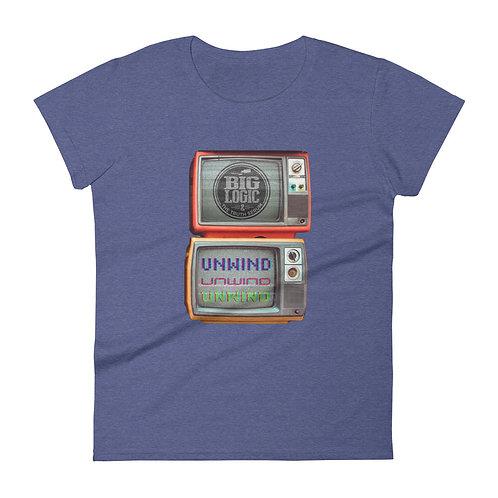 Women's short sleeve Unwind t-shirt
