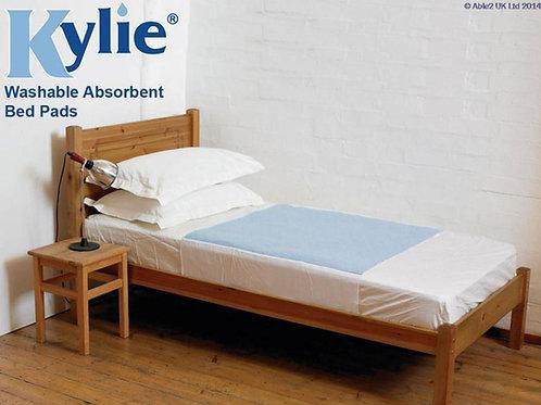 Kylie Bed Pad - 150 x 91cm - Blue