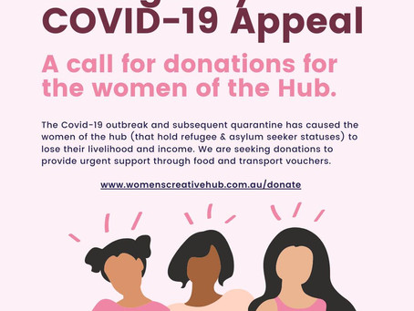 Help Support the Women at the Hub!