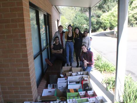 Enactus & Friends Provide Food Boxes for MQ Uni Students