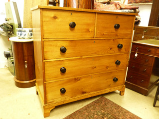 Large Pine Chest.